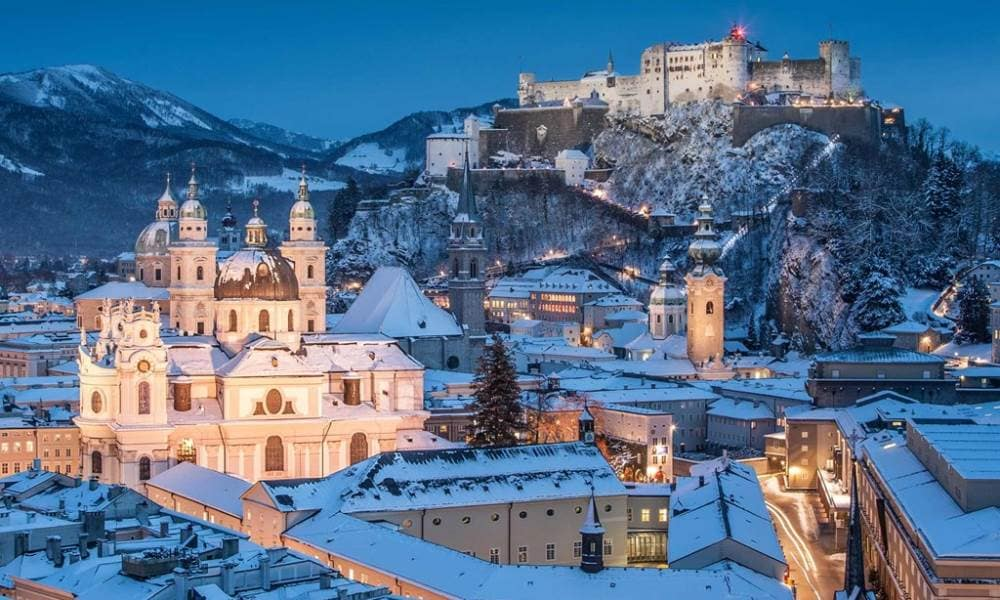 Christmas In Austria.Christmas Markets Of Austria Germany And Switzerland