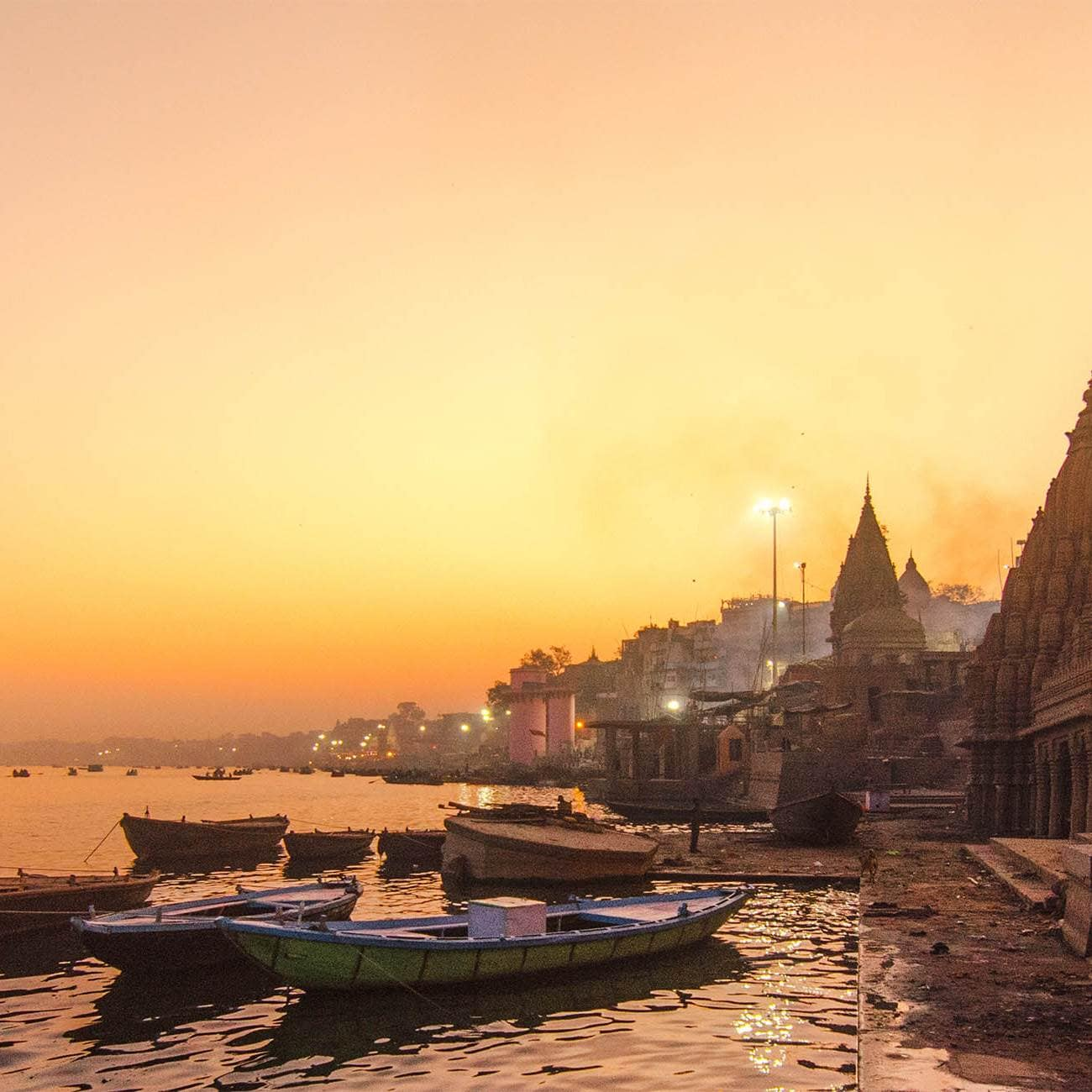 India's Golden Triangle with Varanasi
