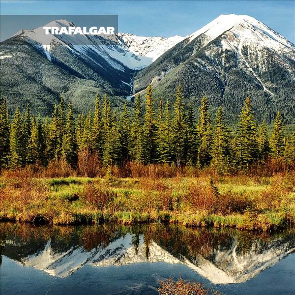 Spectacular Canadian Rockies With Rocky Mountaineer Goldleaf