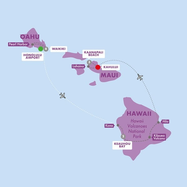 Best of Hawaii Moderate