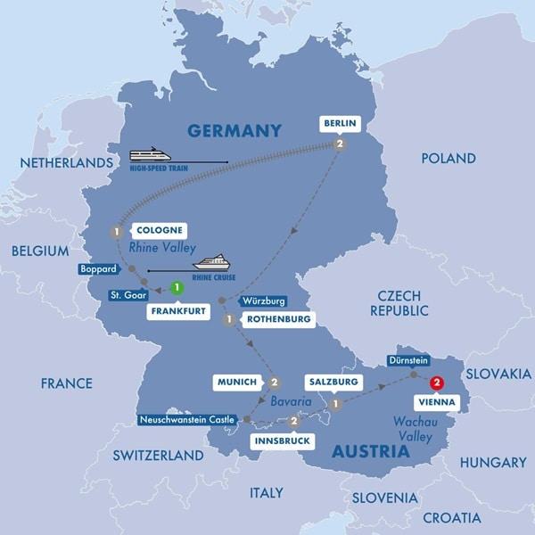 Best of Germany and Austria