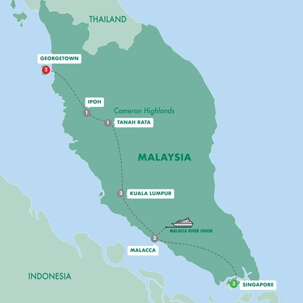 Colonial Singapore and Malaysia