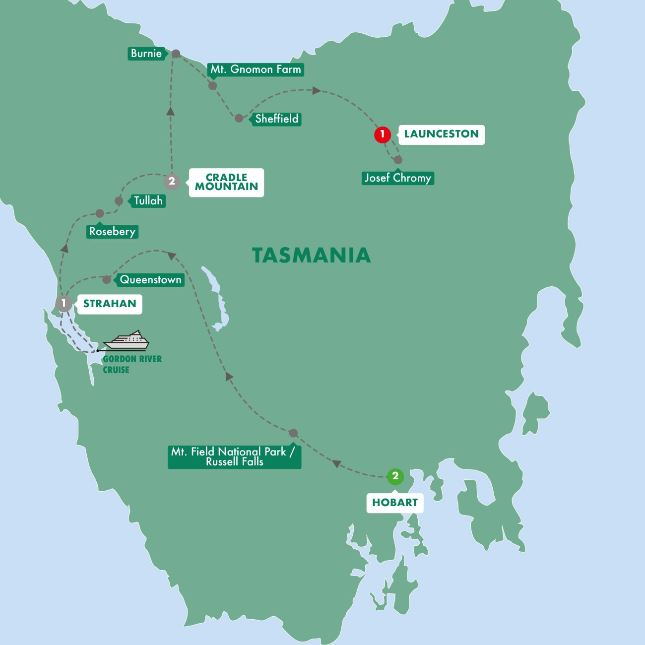 Tassie's Parks and Nature
