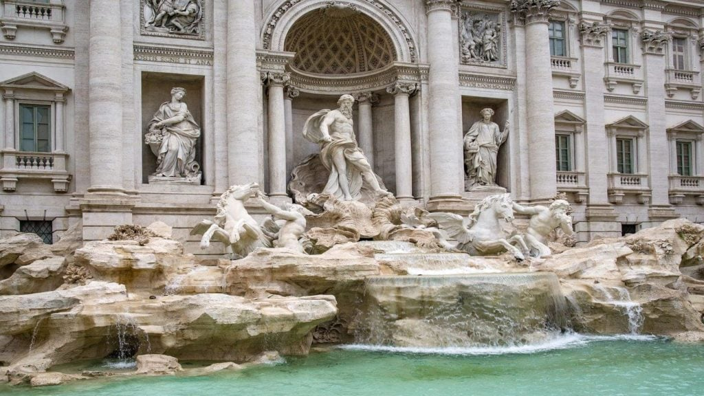 trevi fountain rome fun facts about italy