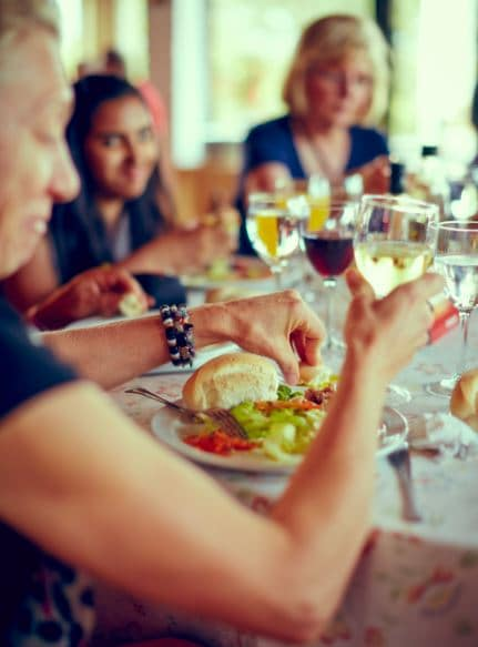 You'll dine with local people in their homes on our Be My Guest experiences