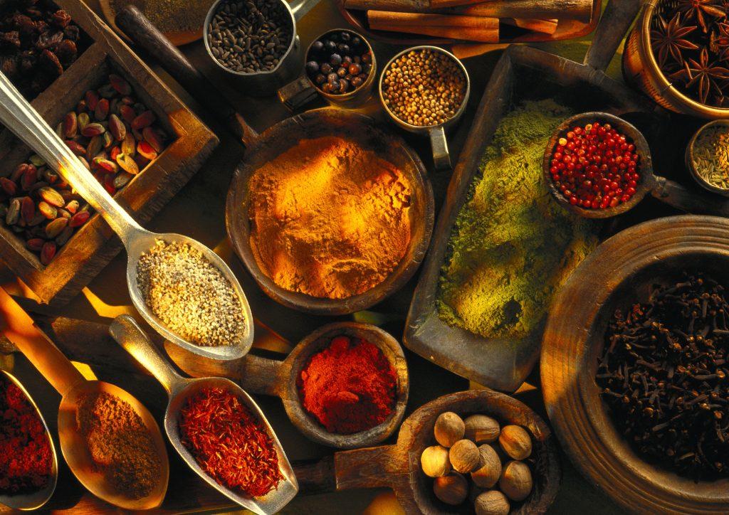 The Mellah Marrakech, spices