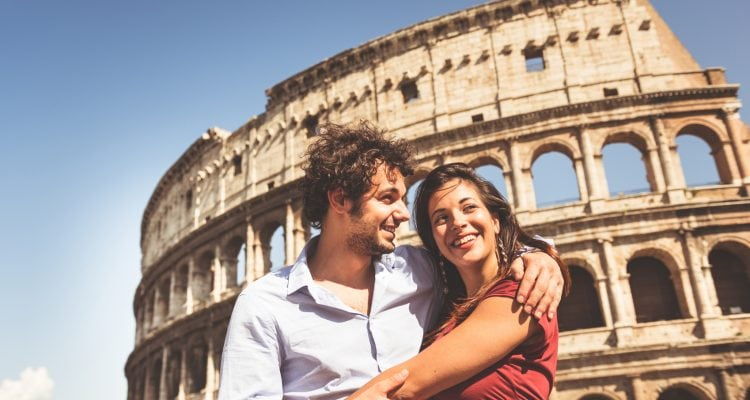Romantic Things to do in Rome Couple-of-tourist-in-rome-www.istockphoto.comgbphotocouple-of-tourist-in-rome-gm496031129-41448974-franckreporter