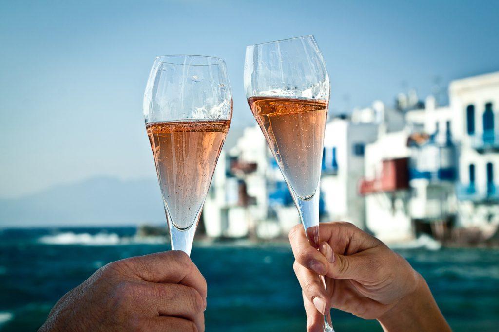 mykonos greek island drinks