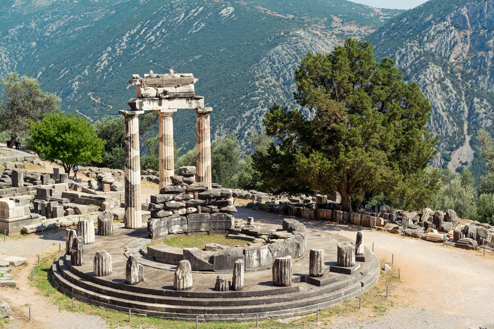 Athens photos Delphi--GettyImages-904149290