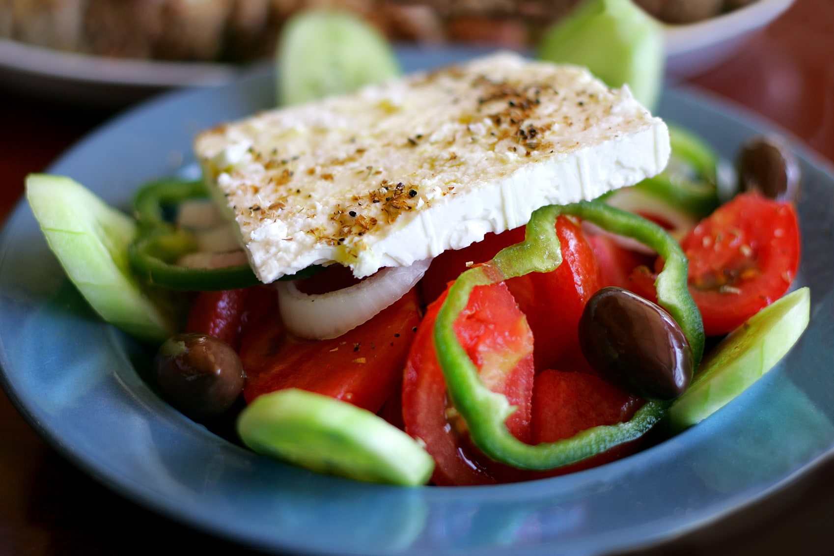 Athens photos Delphi- Greek-Salad-GettyImages-123668796