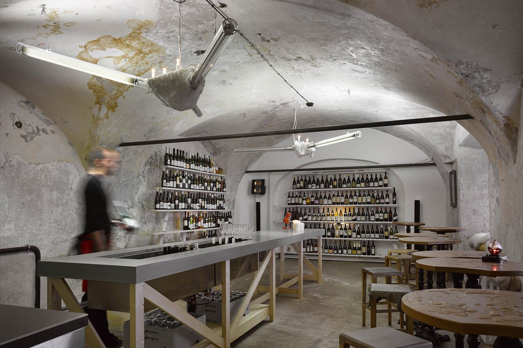 Prague wine bar