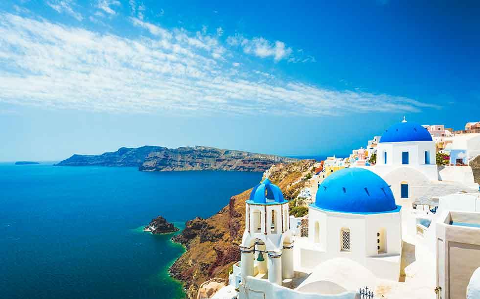 Santorina Greek islands