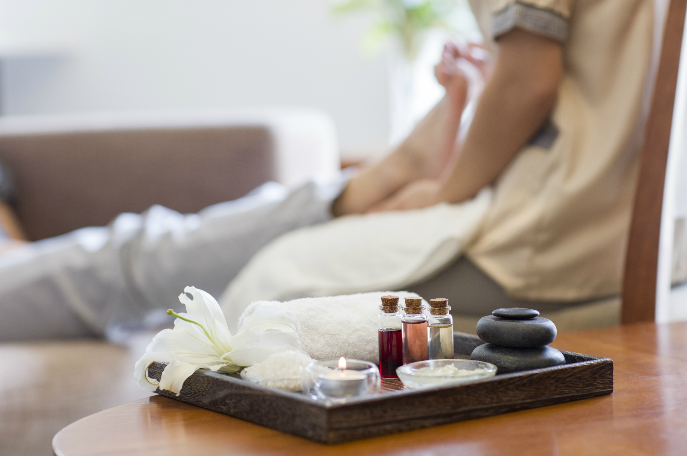 The ultimate Mother's Day treat - a relaxing foot massage