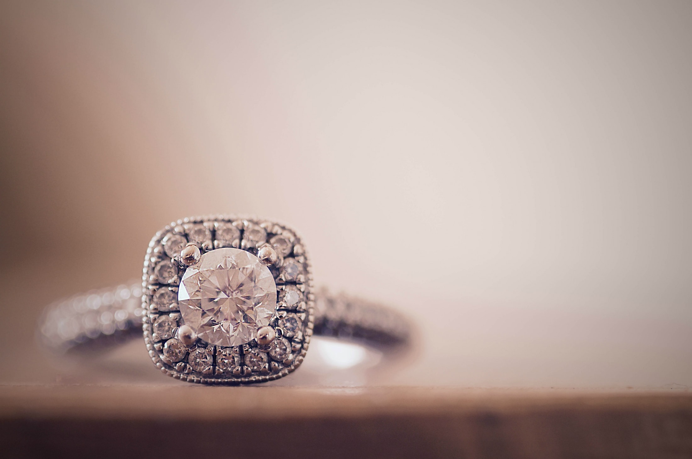 The best Mother's Day treat a diamond ring