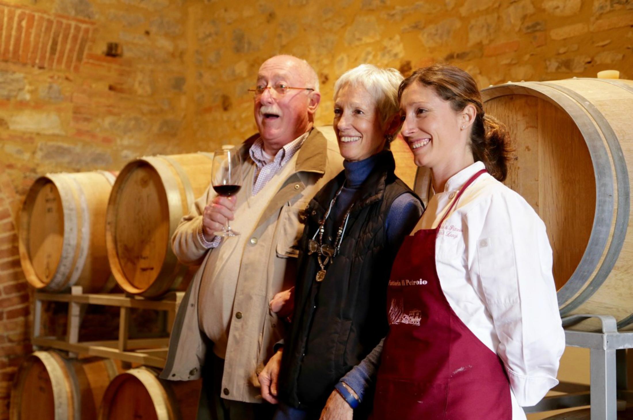 Lenzi family Tuscan winery