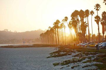 California lifestyle sunset LA
