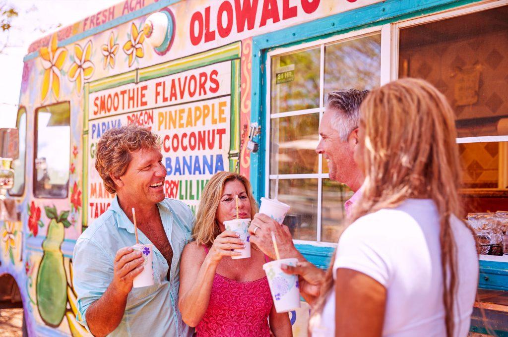 hawaii drinks stand trafalgar