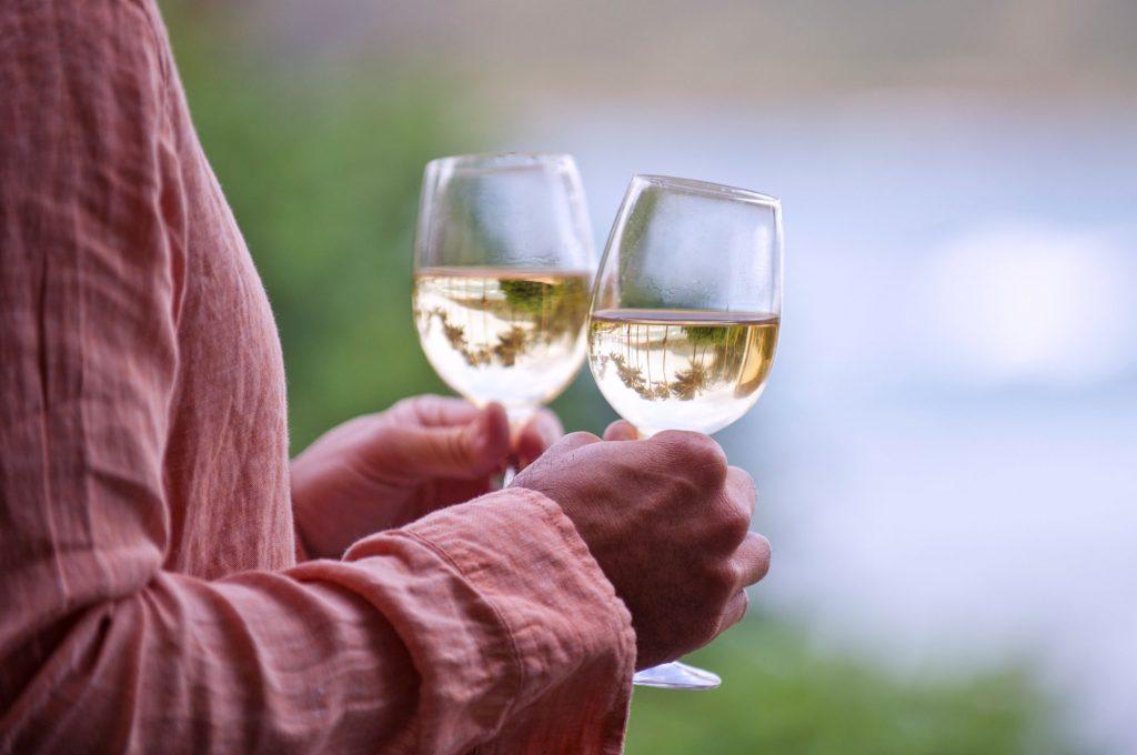 Hawaiian wine tasting