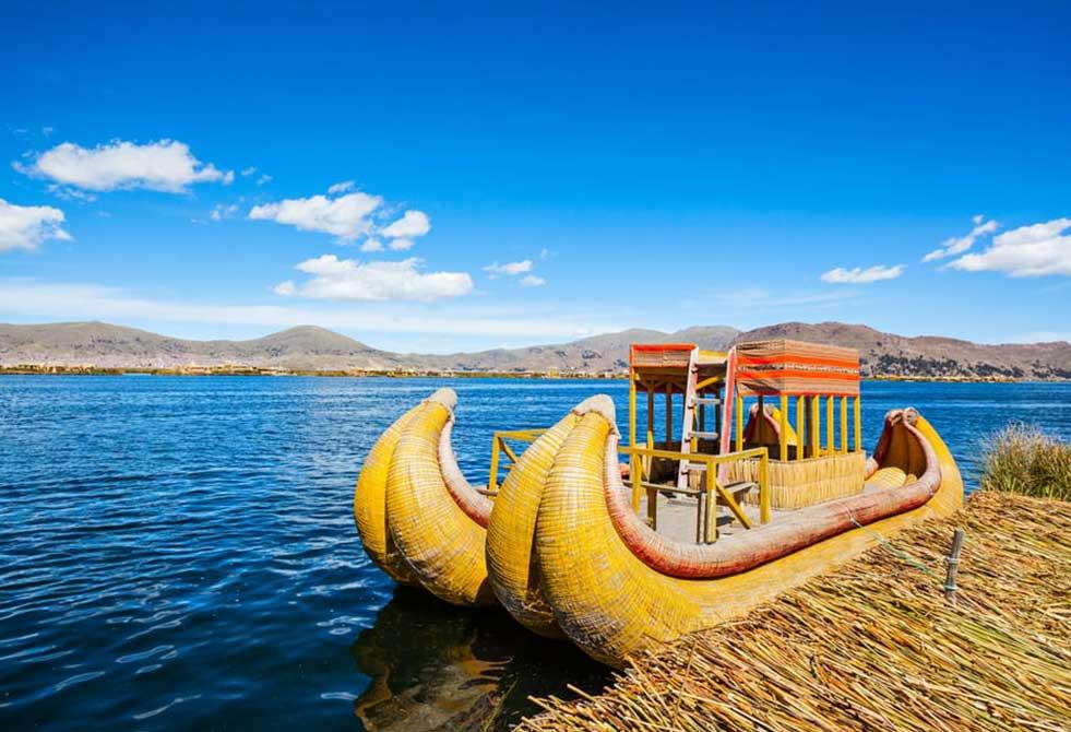 Lake Titicaca boats