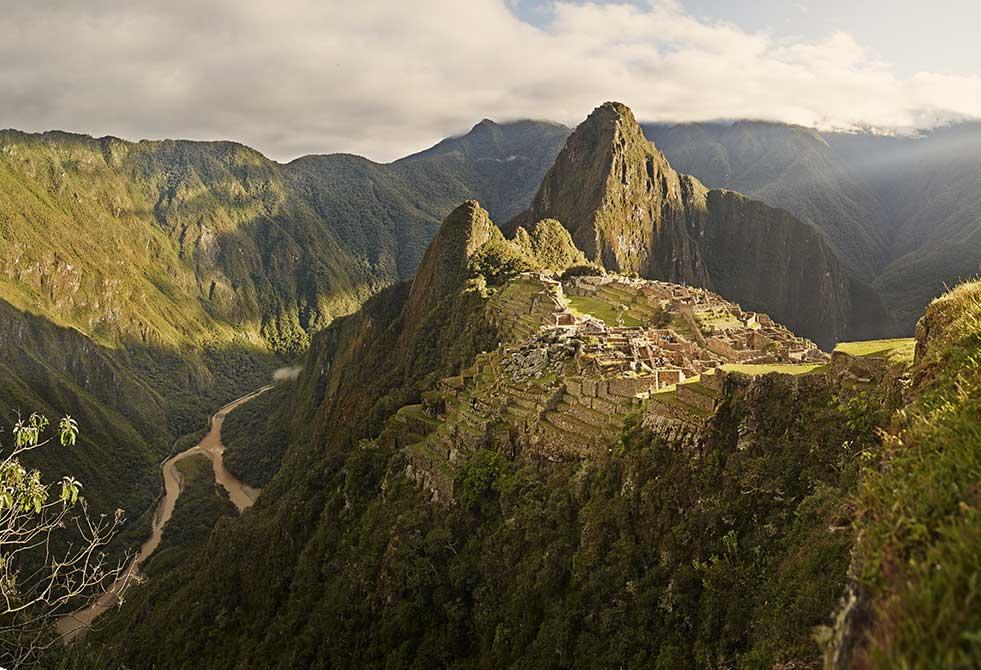 Machu Picchu landscape