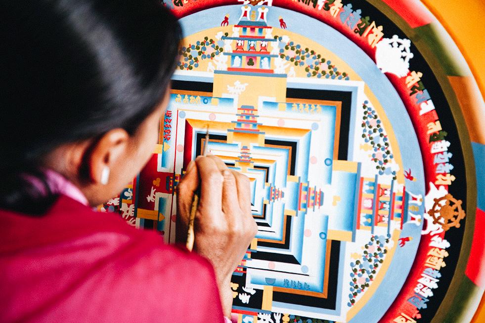 Thangka painting - Nepal