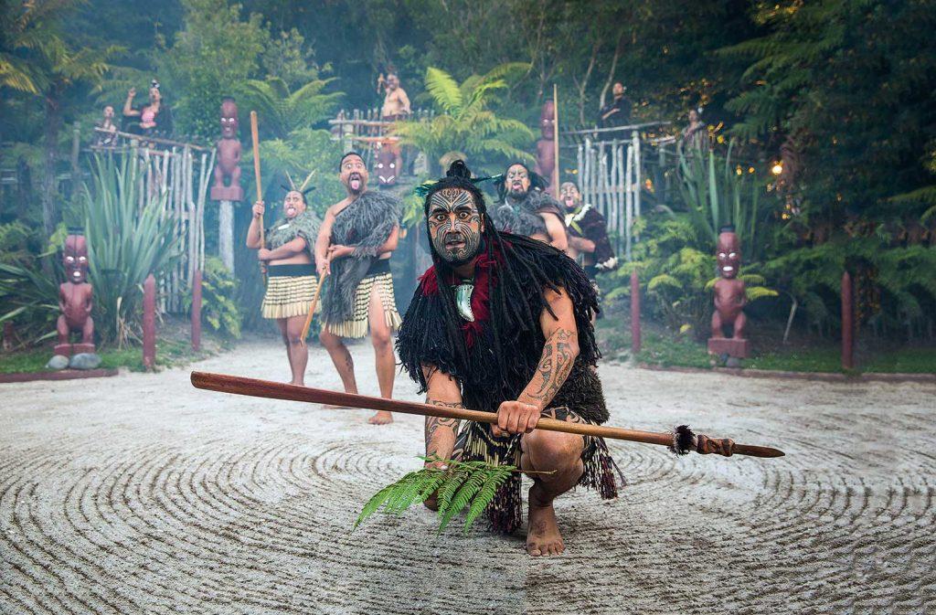 tamaki maori experience greeting