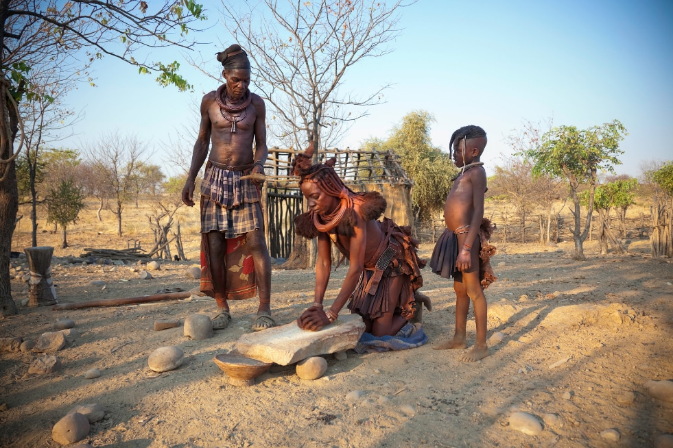 himba tribe - most memorable African experiences