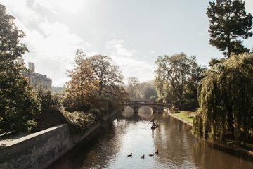 cambridge punting river cam