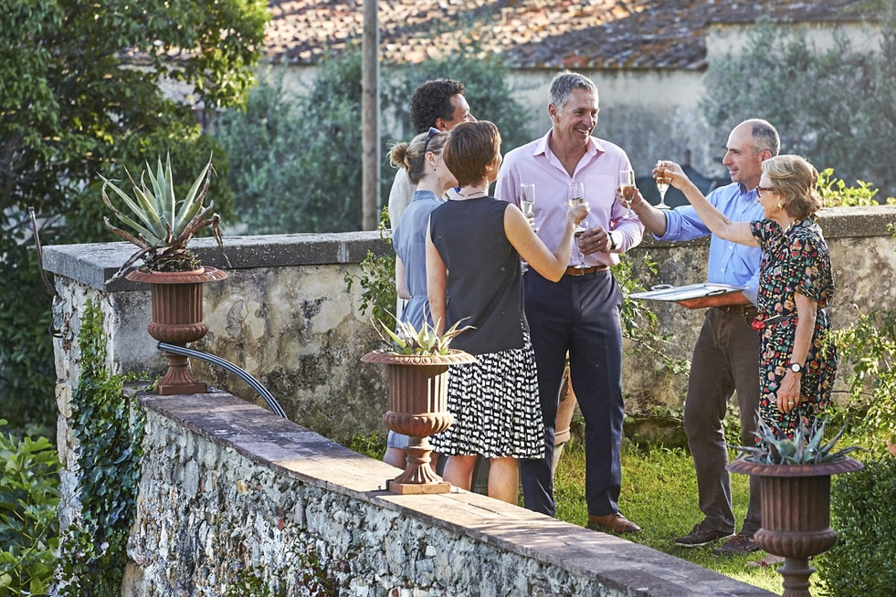 hosts fattoria de maiano Be My Guest Italy