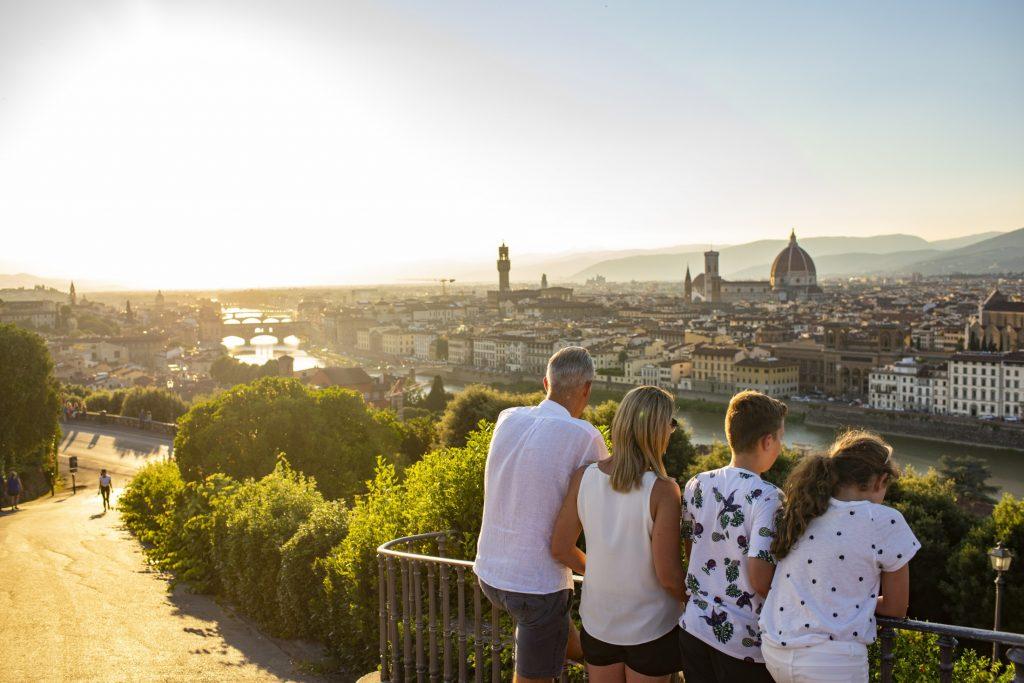 Florentine sunsets leave even the most avid explorer breathless