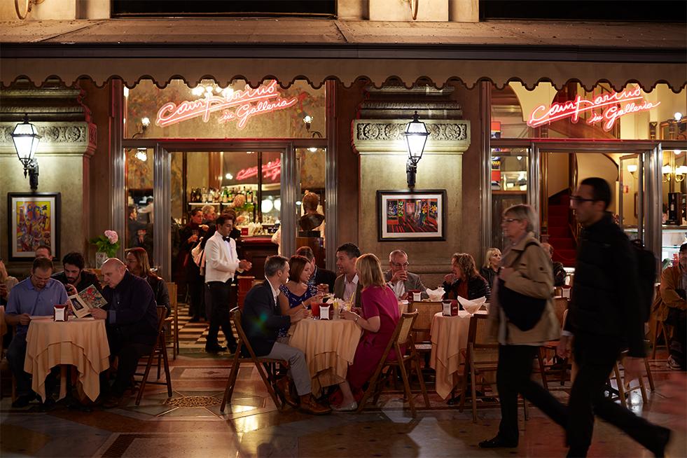 Dining alfresco in Europe