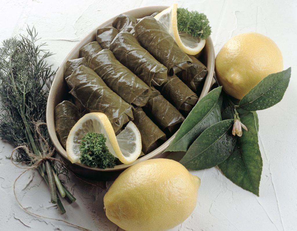 Greek specialty dolmades