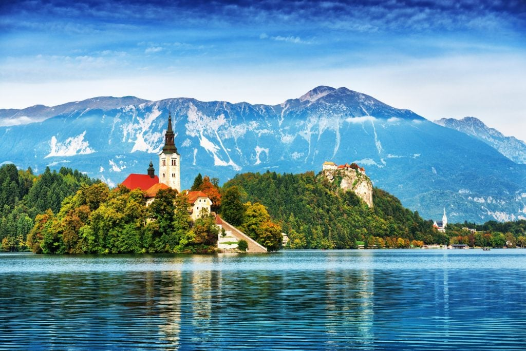 Lake Bled, Slovenia is where to travel in 2020