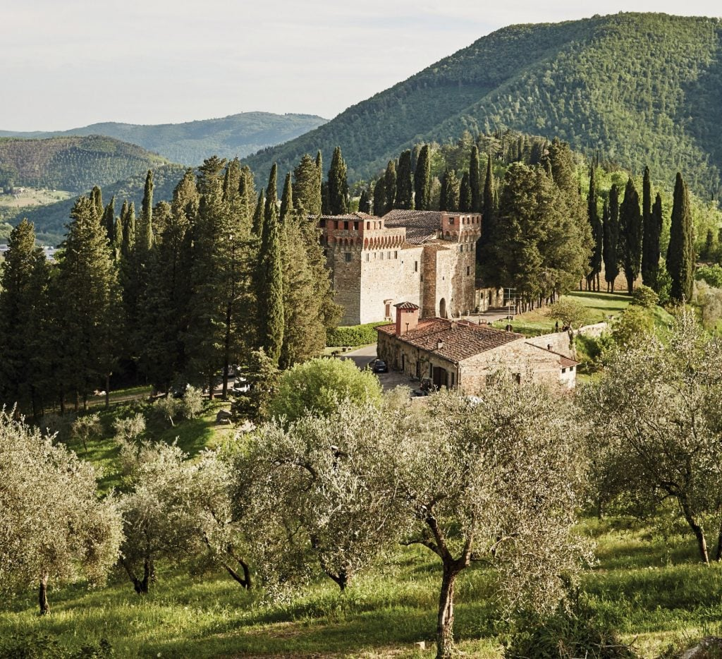 Castello di Trebbio, one of the most intriguing castles in Tuscany
