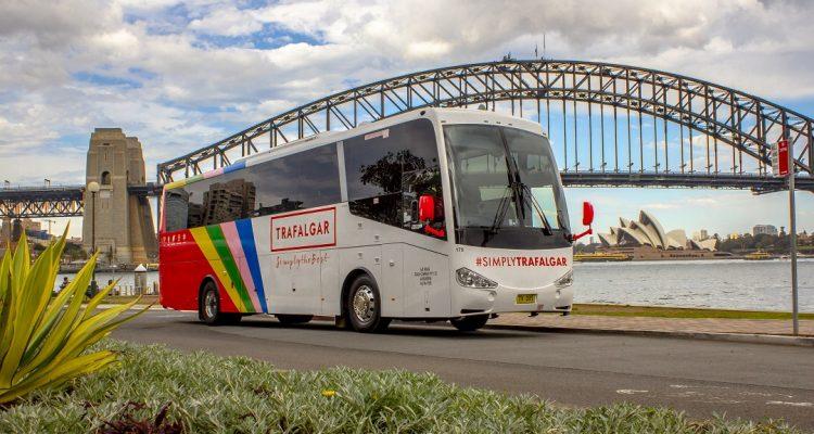 trafalgar bus