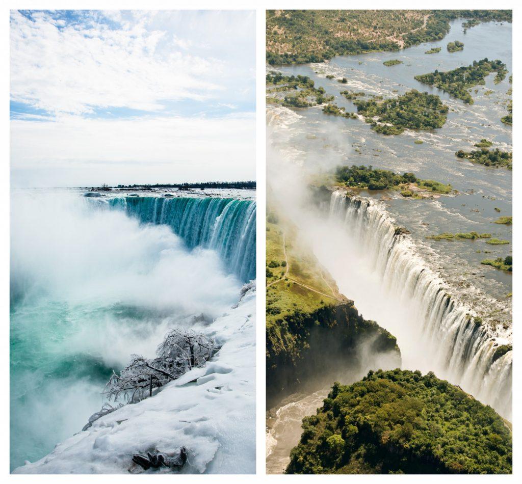 Niagara Falls & Victoria Falls