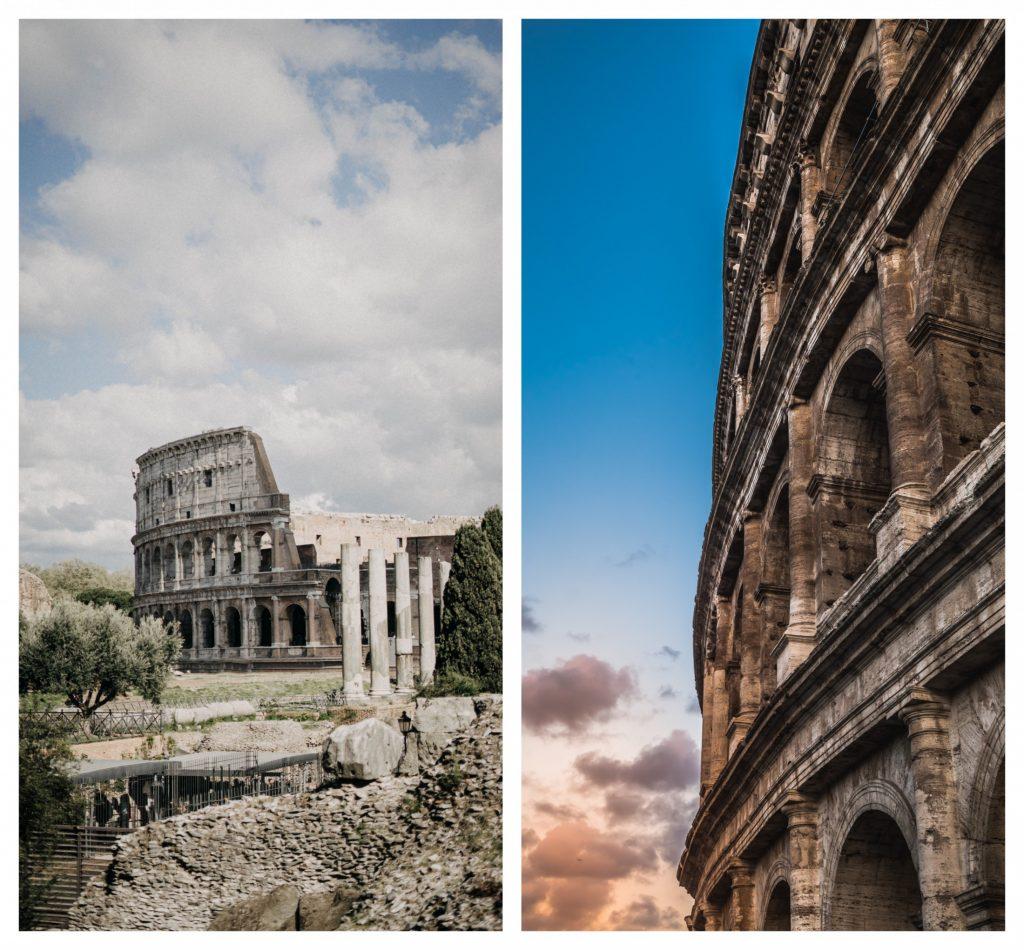 The Colosseum & The Verona Arena