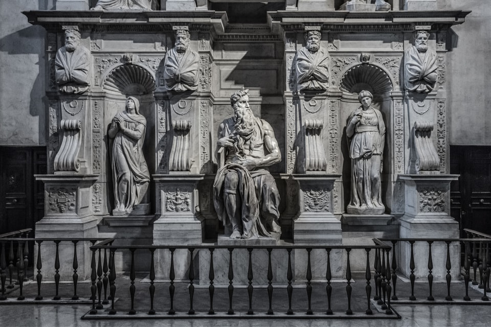 Michelangelo's Moses in Rome