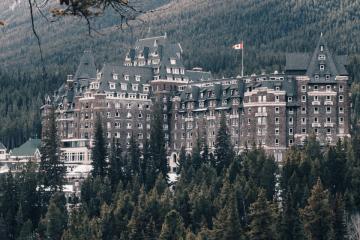 Banff Springs Hotel in Canada