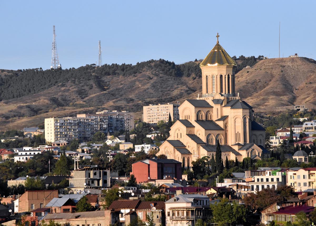holi trinity cathedral tbilisi geogia