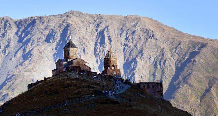 kazbegi and the church georgia