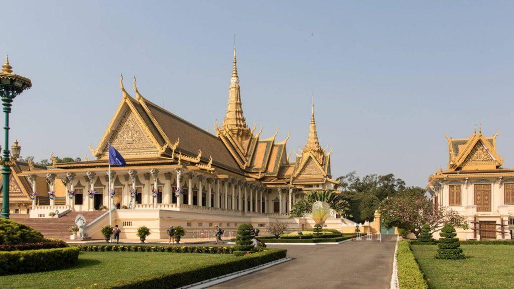 palace Phnom Penh Cambodia