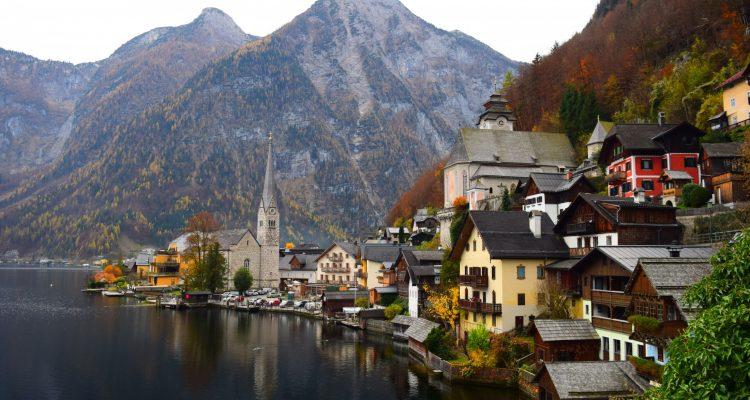 trip to europe, austrian town