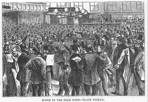 how black friday began - wall street crash of 1869
