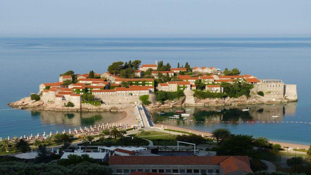 budva island montenegro