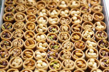 sweet baklava Greece popular Christmas foods