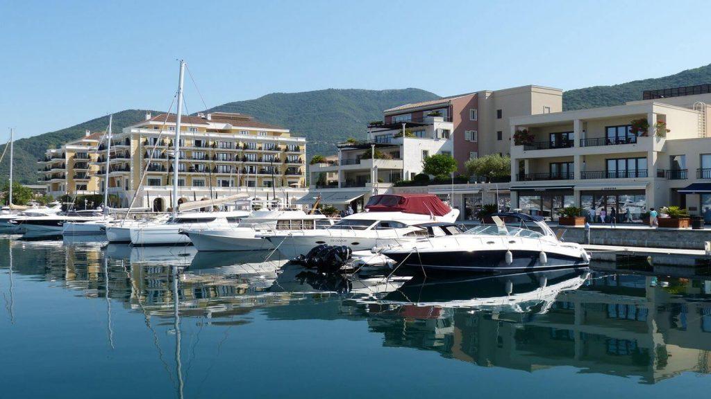 yachts porto montenegro
