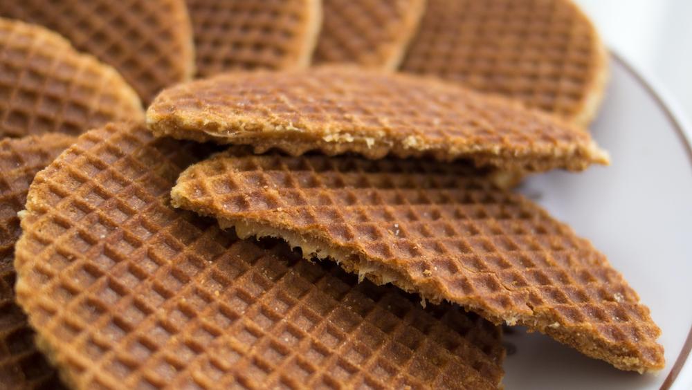 Dutch snacks stroopwafels