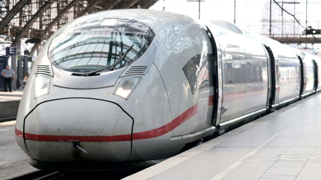bullet train station train travel