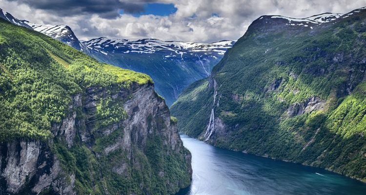 scenic fjords and mountains norway